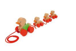 Zieh-Entenfamilie, Babyartikel, Zieh- u. Schiebeartikel