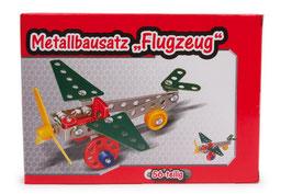 "Metallbausatz ""Flugzeug"" 56-tlg."