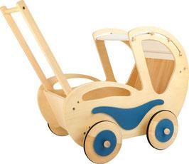 """Puppenwagen """"Dolly"""", für Puppenbabys und Teddybären, Puppen, Puppenhäuser u. Zubehör, Puppen, Holzspielzeug"""