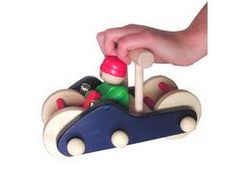Schiebe-Mobil, Zieh- u. Schiebeartikel, Kinder-Holzspielsachen