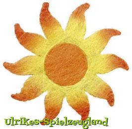 Deko-Sisal-Sonne, Geschenke-Dekoration