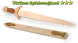 """Holz-Schwert """"Wikinger"""", Rollenspiel u. Verkleidung, Kostüme u. Zubehör für echte Nordmänner, Holzspielzeug"""