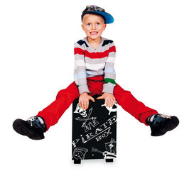 """Kindertrommelhocker """"Pirat"""", Musikinstrumente als Kinderzimmermöbel u. Zubehör, Holzspielzeug"""