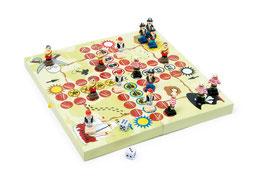 Ludo Piratenbande, Gesellschaftsspiele mit Schiffe-Zubehör, Holzspielzeug