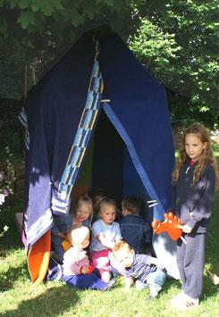 Deckenhöhle, Kinderzimmermöbel u. Zubehör, Gartenspielzeug Outdoor, Massivholzgestell