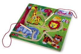 Magnet-Labyrinth, Kugenbahnen, Spielen u. Spass