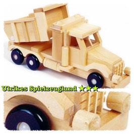 """LKW """"Sandlaster"""", mit beweglicher Ladefläche, Baustellenfahrzeug aus Holz für Bau und Konstruktion, Baugerät"""
