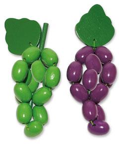 Weintrauben 12er-Satz, Kaufläden-Zubehör