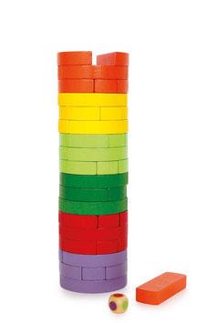 Wackelturm rund und bunt, Bauen u. Konstruieren, Spiele u. Spaß