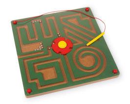 """Magnet-Labyrinth """"Abstrakt"""", Kugelbahnen, Spielen u. Spaß"""