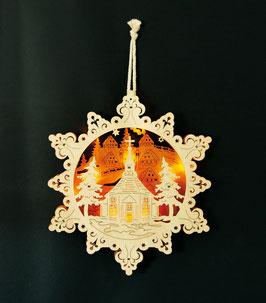 """Lampe """"Sternenstadt"""", Weihnachten-Christmas"""