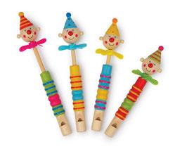 "Flöten ""Clowns Propeller"" 4er-Set, Musikinstrumente"