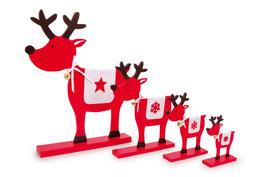 """Deko-Elche """"Stern"""", Weihnachten-Christmas"""