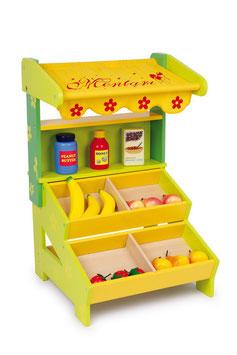 """Verkaufsstand """"Nora"""", Kaufläden-Zubehör für kleine Kaufleute, Holzspielzeug"""