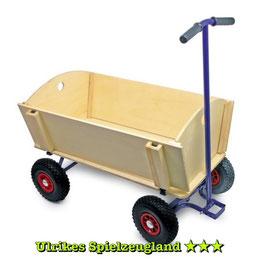 Bollerwagen extra groß, Outdoor-Spielzeug für den Garten und für Kinderbaustellen