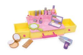 Kosmetikkoffer, Puppen, Puppenhäuser u. Zubehör, Schminkutensilien für die kleinen Damen