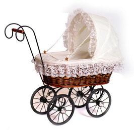 """Puppenwagen """"Antik"""", für den kleinen Puppenliebling der Puppenmami"""
