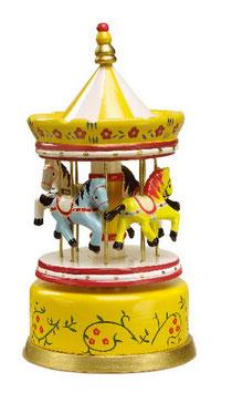 Spieluhr, gelb, Spieluhren mit zauberhaften Melodie, Holzspielzeug
