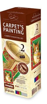 Bastelset Malteppich, Malen u. Basteln, hochwertiger Malspaß