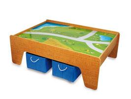 Spieltisch, Kinderzimmermöbel u. Zubehör für Spielen u. Spaß, Holzspielzeug