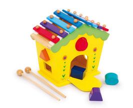 """Klang- und Spielhaus """"Dodoo"""", Musikinstrumente - Xylophon, für die kleinen Musiker, Holzspielzeug"""