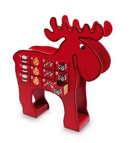 """Adventskalender """"Elch"""", Weihnachten-Christmas"""