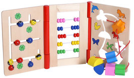 Multimotorik, Motorik Spielzeug, Kinder-Holzspielsachen als Lernartikel