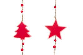 """Holzhänger """"Stern & Tanne"""", Weihnachten-Christmas"""