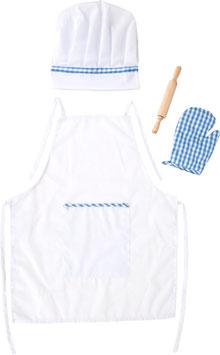 Koch-Kostüm, für Küchen u. Zubehör, für die kleinen Kinder-Köche