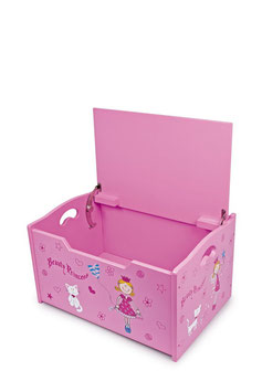 """Truhe """"Beauty Princess"""", Puppenhäuser u. Zubehör, Aufbewahrungsmöbel für Puppenwäsche u. Spielsachen"""
