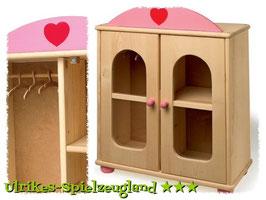 Puppenschrank, Puppenhäuser u. Zubehör, Kinderzimmermöbel u. Zubehör, Kinder-Holzspielzeug