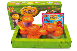 "A-Clay 8 Colors, A-Ball Clay ""Cute & Prickly"", Malen u Basteln, Modelliermasse für Kreative"