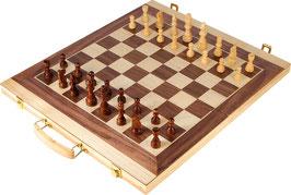 Schach und Backgammon Koffer, First Class-Gesellschaftsspiele für die kleinen Strategen