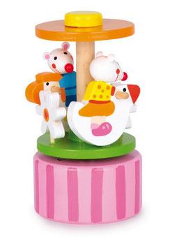 """Spieluhr """"Mäusetanz"""" mit einer wunderschönen Melodie, Kinder-Spielsachen aus Holz"""
