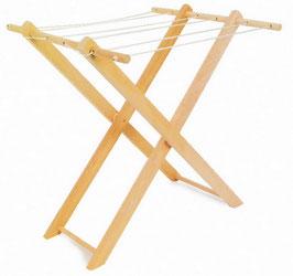 Wäscheständer für Puppenhäuser u. Zubehör, Holzspielzeug
