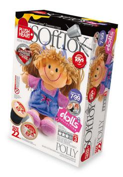 """Bastelset """"Nikita"""", Kinder erwecken diese niedliche Puppe mit einem Herz zum Leben"""