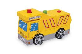 "Müll ""Max"", Fahrzeuge-Autos, Kinder-Holzspielsachen"
