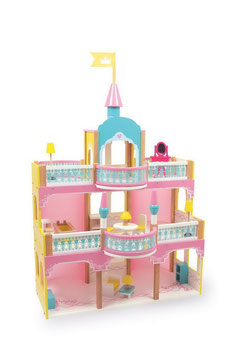 Prinzessinnen-Schloß, Puppenhäuser u. Zubehör, Kinderzimmermöbel u. Zubehör, Holzspielzeug