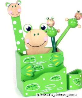"""Stiftebox """"Frosch"""" für Kinderschreibtisch"""
