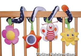 Baby Greifspirale mit 4 Motiven zur Förderung von Greifreflexen der Babys