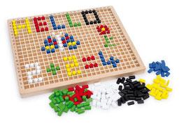 """Steckbox """"Kreativ"""", Lernartikel, Motorik Spielzeug, Malen u. Basteln, Spielen u. Spaß, Holzspielzeug"""