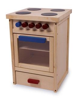 Küchenherd für Küchen u. Zubehör, Holzspielzeug für Kinder-Köche