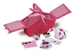 Picknickkorb Geschirr, Küchen u. Zubehör, Gartenspielzeug Outdoor