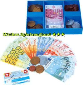 Spielgeld-Kassette für Kaufladen und Kinderkassen