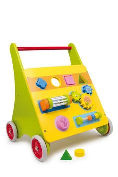 """Lauflernwagen """"Mico"""", Zieh- u. Schiebeartikel als Motorik Spielzeug aus Holz"""