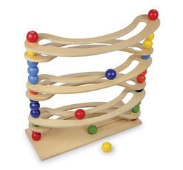 """Kugelbahn """"Flexi"""", Bauen u. Konstruieren von Kugelbahnen, Kinder-Holzspielzeug"""