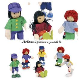 """Biegepüppchen """"6 Freunde"""", Puppen, Puppenhäuser u. Zubehör, Fahrzeuge-Autos, Kinderspielzeug"""