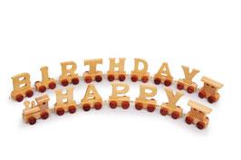 """Geburtstagszug """"Happy Birthday"""""""