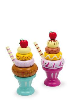 Eiscremebecher 2er-Set, Kaufläden, Küchen u. Zubehör