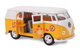 """Modellauto """"VW 62 Classical Bus"""" Automobil-Klassiker und Nostalgieauto für Spielkinder und Sammler"""